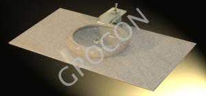 granite round